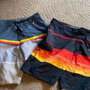 Set of 2 Rip Curl Surfshorts size 28